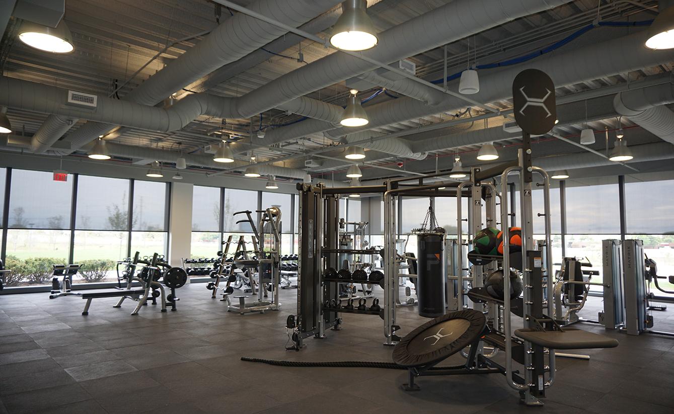 Fitness center design kinema